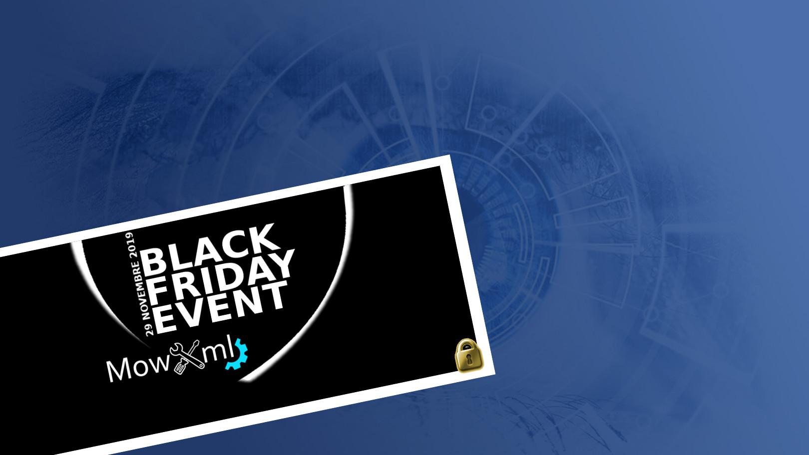 10. BLACK FRIDAY EVENT MOWXML : COCOON 🏭