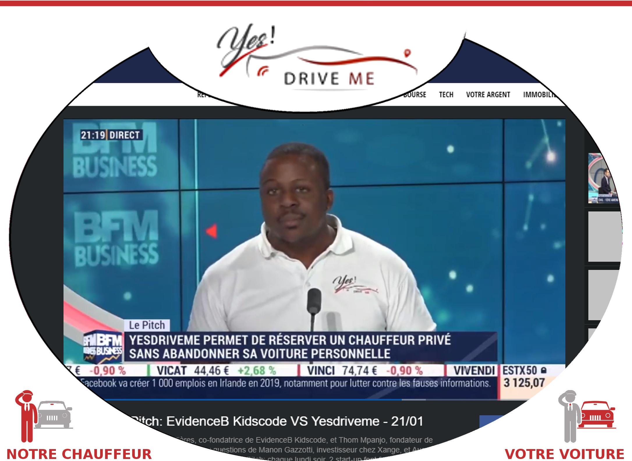 7. YesDriveMe : THOM, LE YESDRIVER CHEZ BFM TV